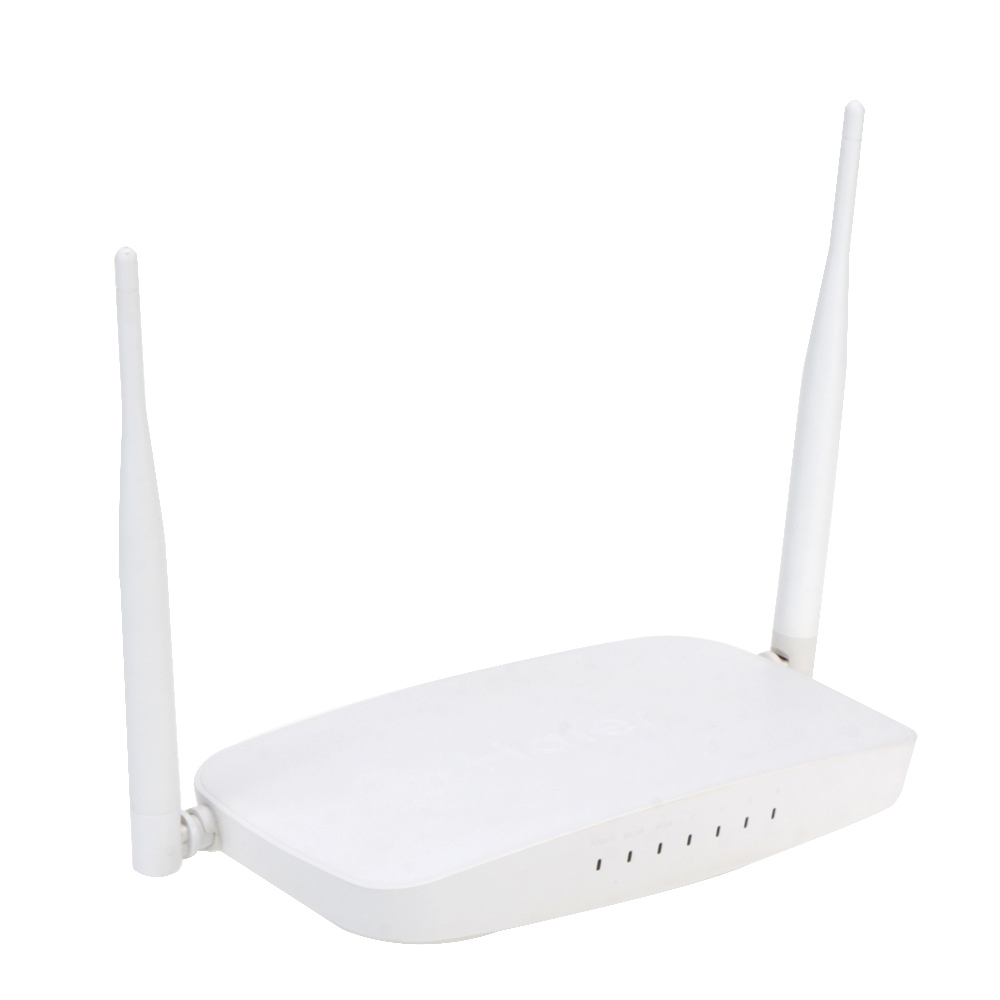 Haier A3 300Mbps WiFi Wireless Router 4 LAN Ports 2 High Gain Antenna WiFi Router with US Plug Power Adapter Support WPS WDS(China (Mainland))