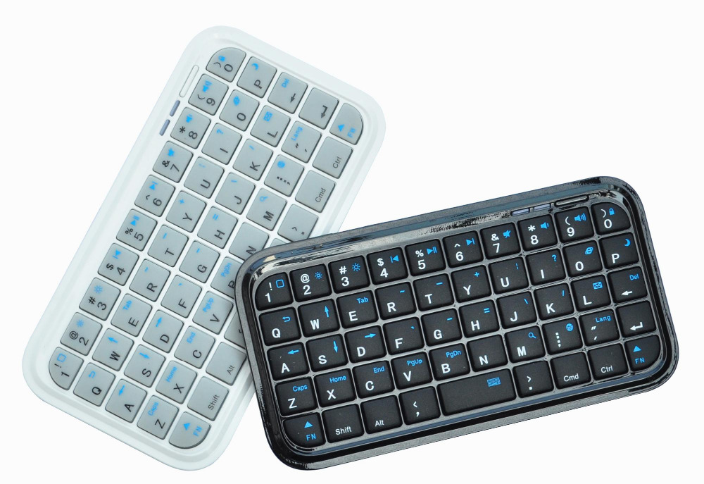 Slim Mini Wireless Bluetooth Keyboard for iPhone 3G AIR Andriod samsung dell HP tablet win8.1(China (Mainland))