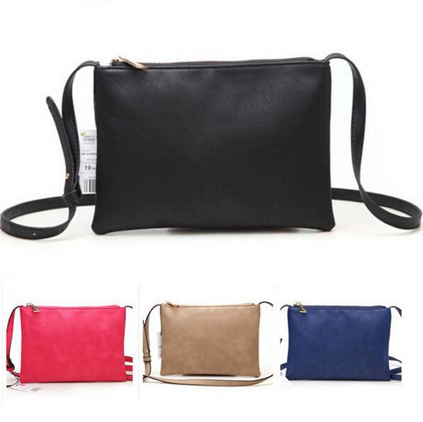 On Sale! New 2015 women leather handbags for woman fashion designer black bucket vintage Shoulder bags women messenger bag(China (Mainland))