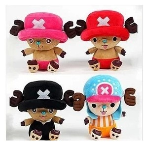 Genuine Chopper doll Piece pendant cute plush toy with suction cups small pillow Collector's Edition shipping(China (Mainland))