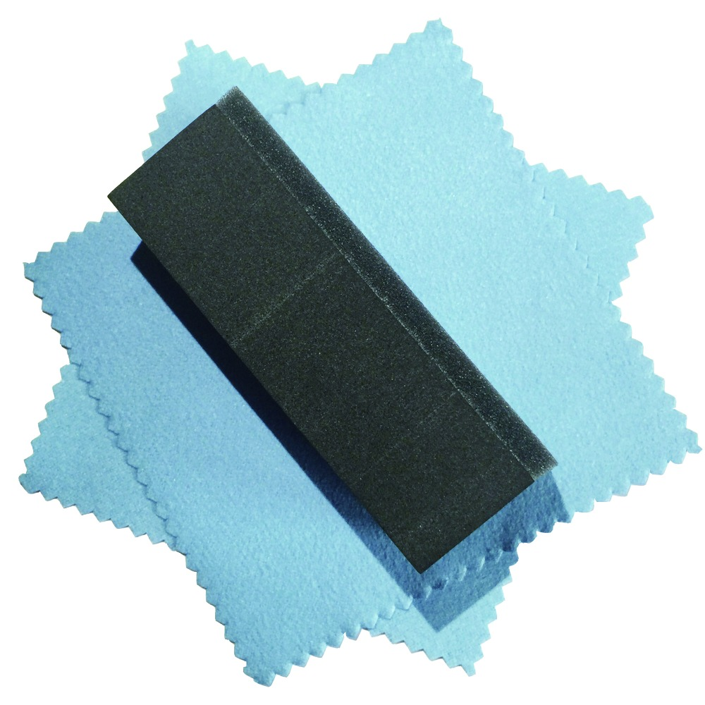 coating applicator pad glass coat sponge waxing sponge car detail applicator auto detail sponge(Hong Kong)
