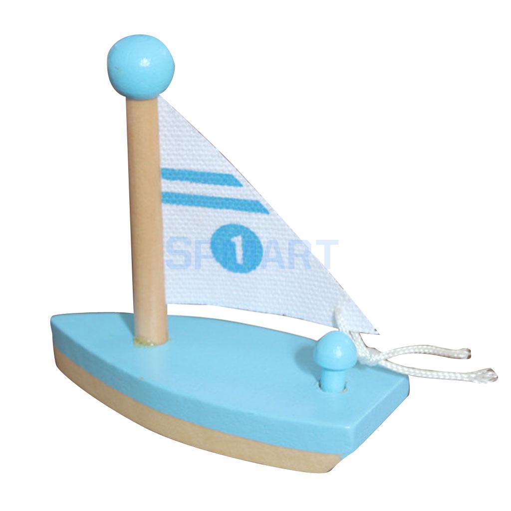 Kids Mini Sailboat Model Toy Home Shelf Room Desk Table Decorative Boat Toy(China (Mainland))