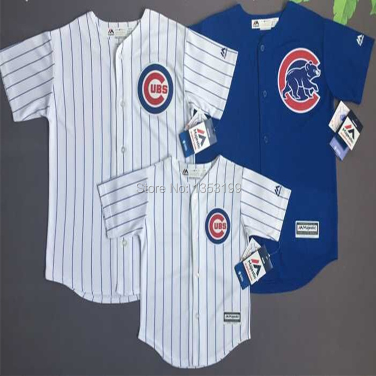 Baseball Jersey Chicago Cubs Children and Youth Team Jersey(China (Mainland))