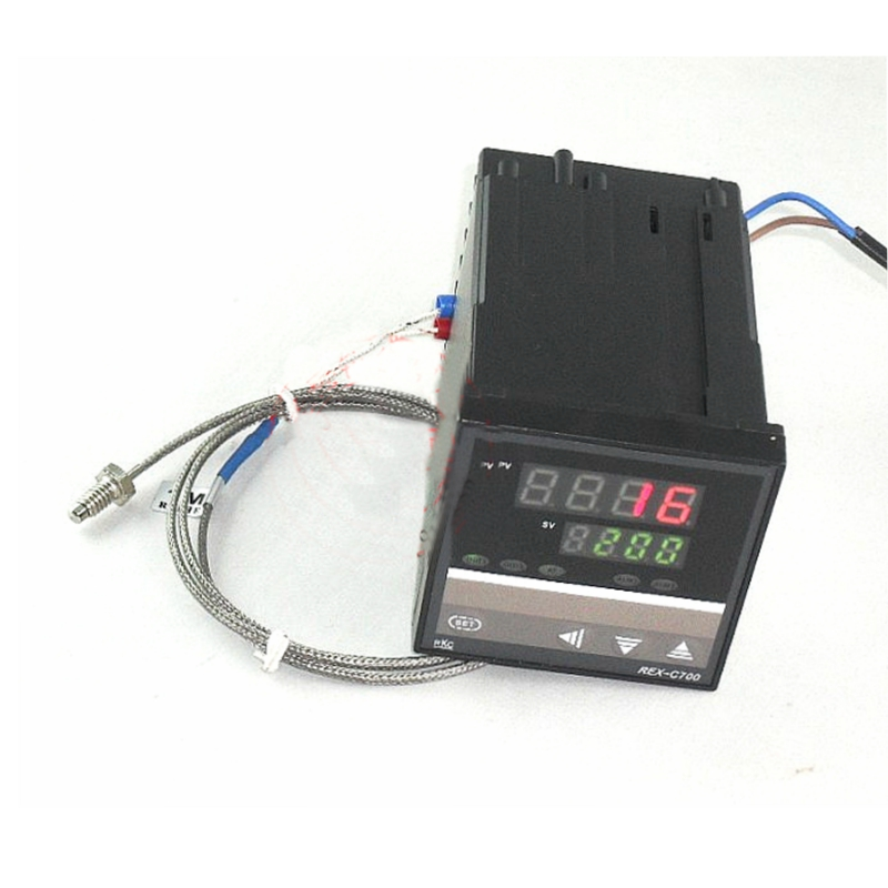 New Dual Digital Digital PID Temperature Controller REX-C700  with SSR /relay output +Free shipping<br><br>Aliexpress