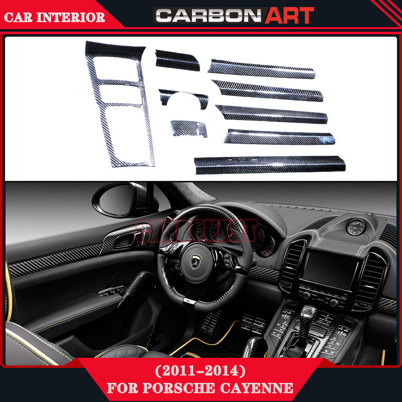 Popular porsche cayenne carbon buy cheap porsche cayenne carbon lots from china porsche cayenne Porsche cayenne interior parts