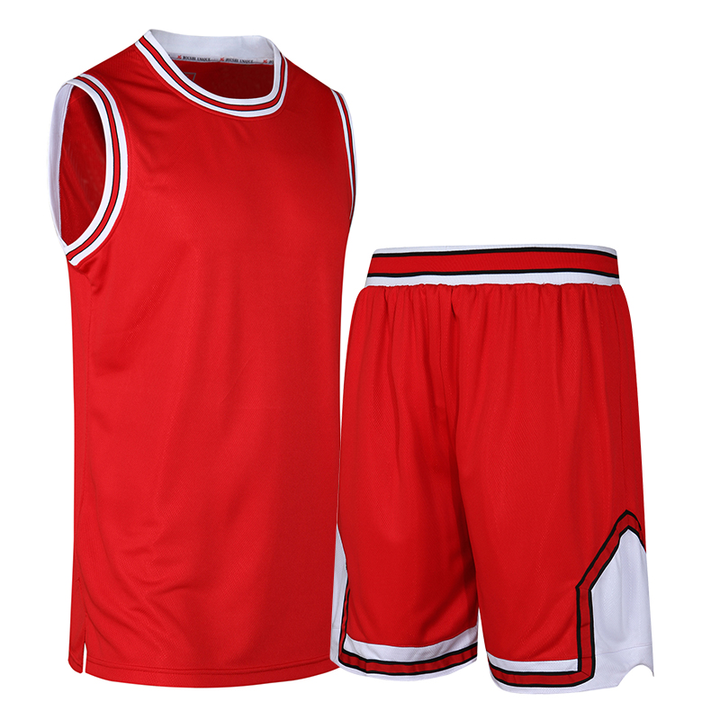 Team Basketball Jersey Suit for Men Sports Suits Summer Logo Customization 5 Colors(China (Mainland))