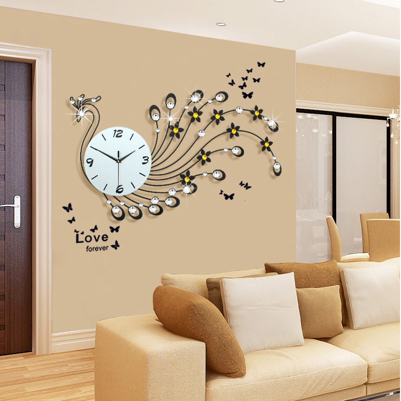 48 horloge murale achetez des lots petit prix 48 horloge. Black Bedroom Furniture Sets. Home Design Ideas