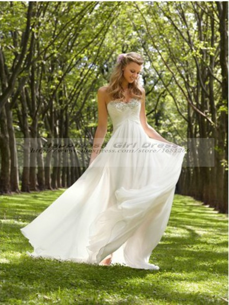 Vestidos De Noivas Paria 2015 Sexy Cheap Hippie Wedding Dress Chiffon Backless Wedding Dresses