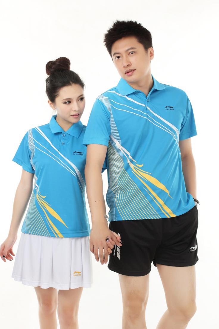 Teenage tennis ball badminton table tennis ball lovers design sports set jersey(China (Mainland))