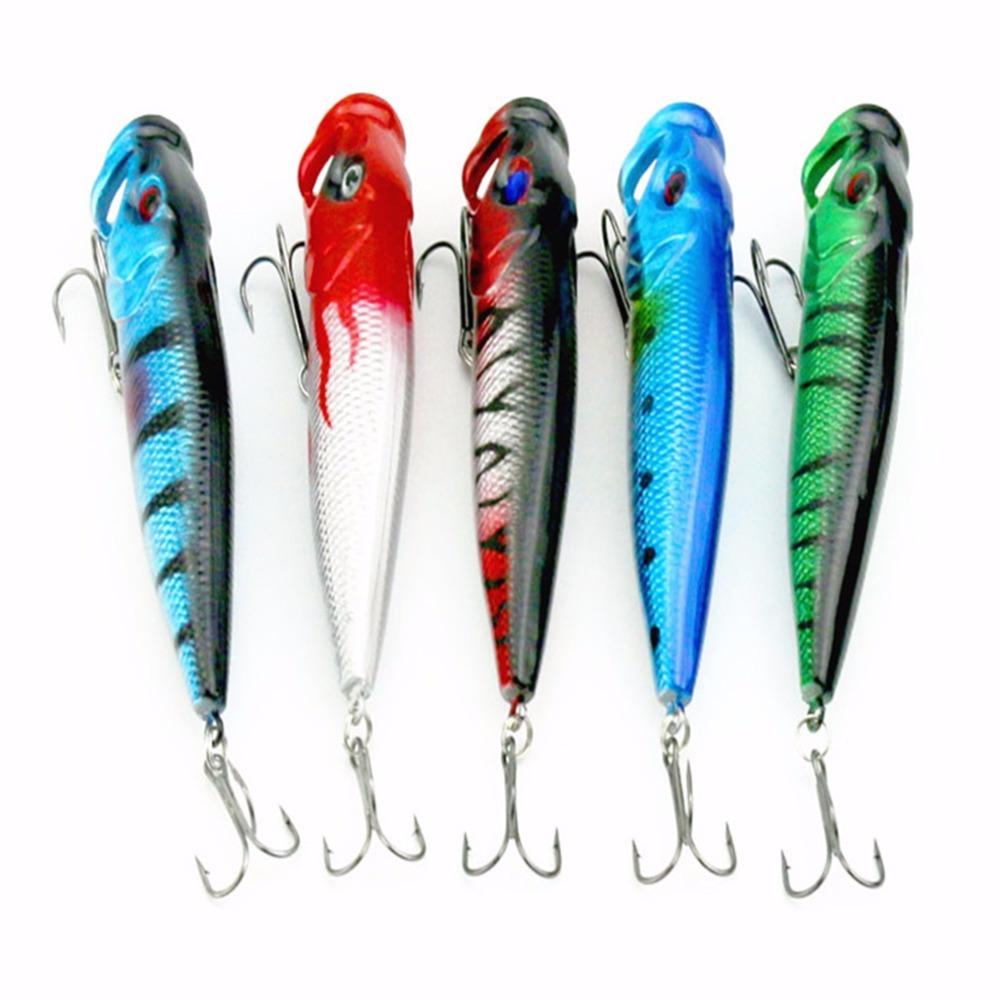 5pcs Good Quality 9CM Fishing Lures Crankbaits Hooks Minnow Baits Tackle Best Seller(China (Mainland))