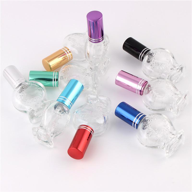 XYZ-8ML spray mini-color glass perfume spray empty bottles glass perfume bottles, glass spray bottles Dian Hualv pump head(China (Mainland))