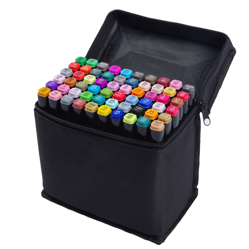 [30COLORS/SET] art marker pen set zeichnen black brush marker watercolor markers fine colour markers liner for drawing(China (Mainland))