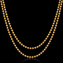 Unique Design Ball Positioning Beads Multi-layer Chain Necklace Bohemia Necklace, Wholesale Gold Plated Gothic Men Women Jewelry