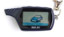2016 New Hot vente Starlionr B9 Starline LCD télécommande pour deux voies alarme de voiture Starline B9 trousseau russe Version
