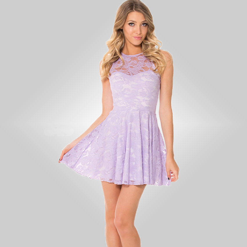 Free shiping new spring and summer [2015] Black Milk openwork lace dress lace candy color sheds29.90 wcm(China (Mainland))