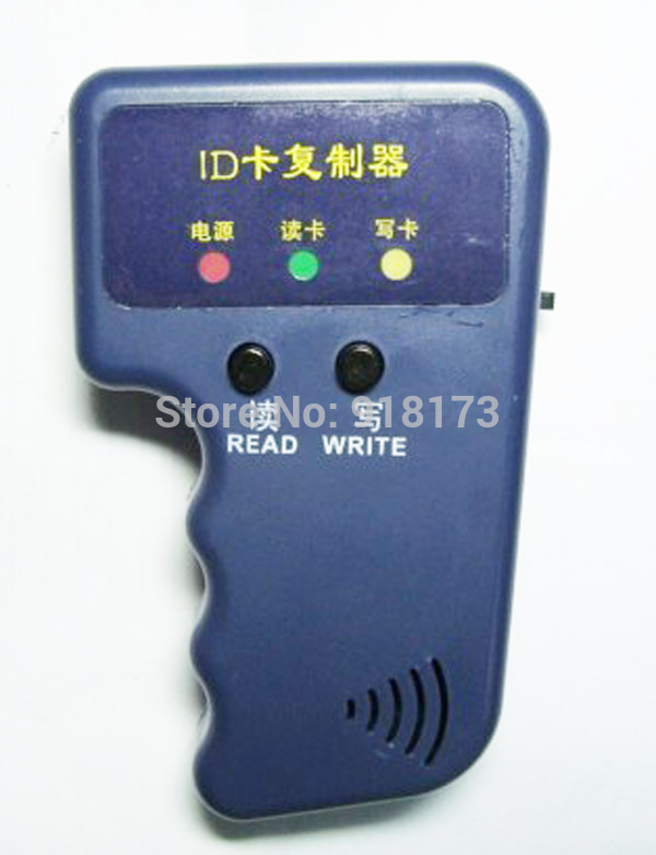 125KHz RFID ID Card Reader & Writer/Copier/Duplicator/Programmer + 3pcs Writable Tags Access Control(China (Mainland))