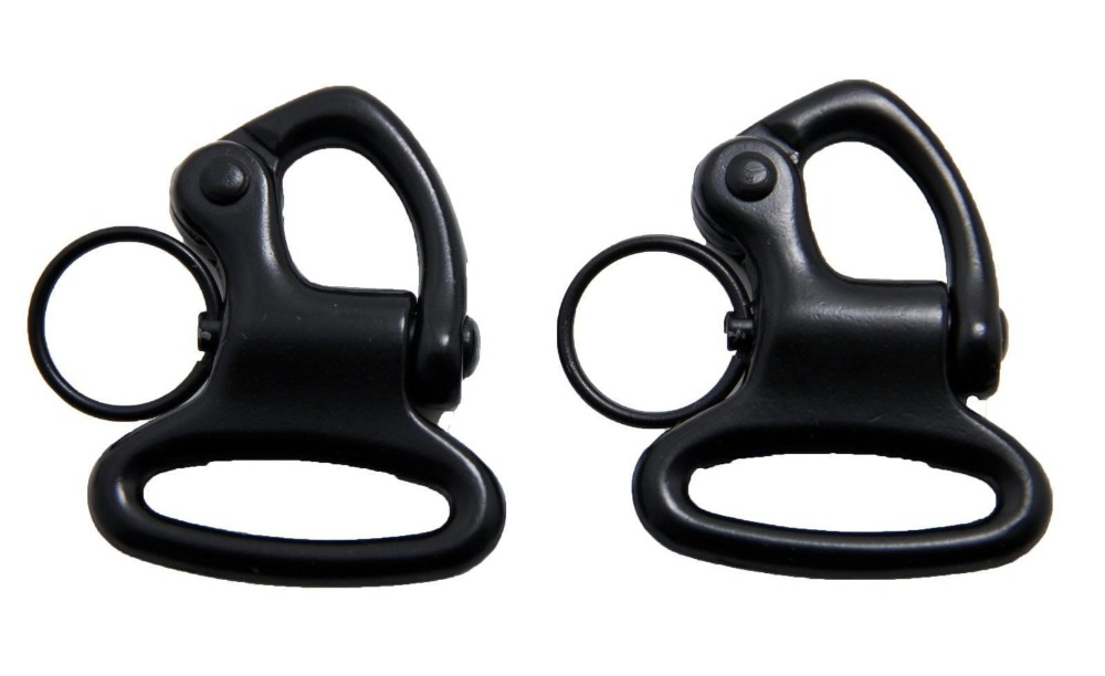 Black 2pcs 1 New Quick Release Gun Sling Swivel Rifle / Shotgun Sling Swivels<br><br>Aliexpress
