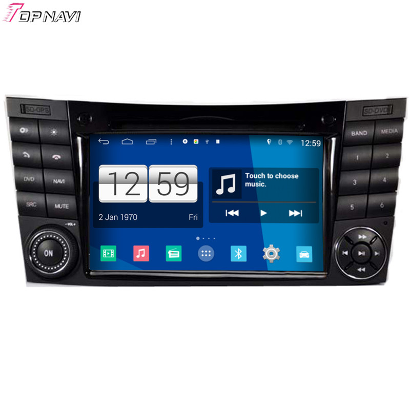 Free Shipping Quad Core S160 Android 4.4 Car DVD GPS For W211 2002 2003 2004 2005 2006 2007 2008 With Mirror Link BT Wifi Stereo(China (Mainland))