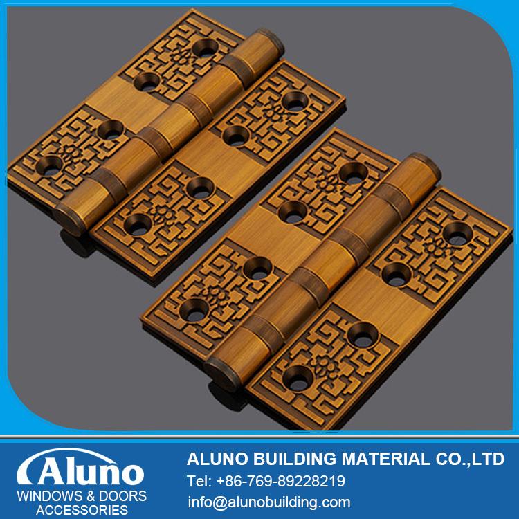 Aluno 4 Inch European Style Yellow Bronze Hinge(One Pcs)(China (Mainland))