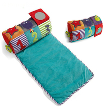 Cotton And Soft Baby Play Mats Game Blanket Baby Pillow Baby Toy And Baby Folding Crawling Blanket -- BYC031 PT49(China (Mainland))