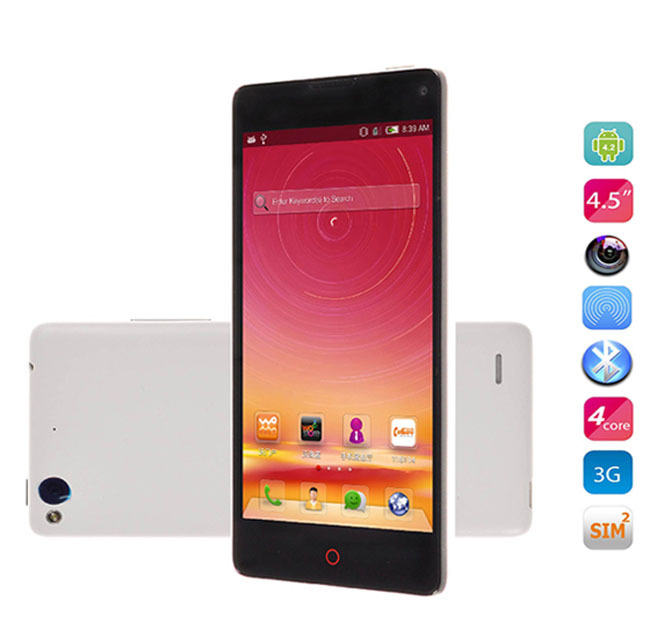 Original ZTE Nubia Z5S Mini 4.7 inch HD IPS OGS Snapdragon 600 Quad Core 1.7 GHz android 4.2 mobile cell phones 2G RAM 16G smart(China (Mainland))