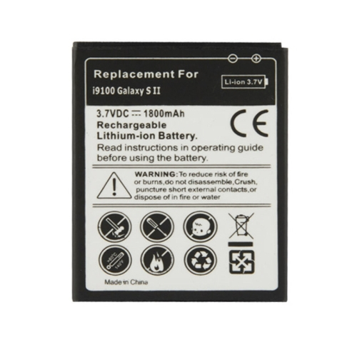 High Compatible 1800mAh Mobile Phone Battery for Samsung Galaxy S2 SII i9100 Hot Sale And High