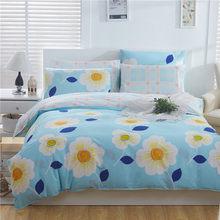 Free Shipping Modern Style 100% Cotton Duvet Cover Set Bed Sheet Pillowcase King Size Super Soft Bedding Sets LIPA002(China)
