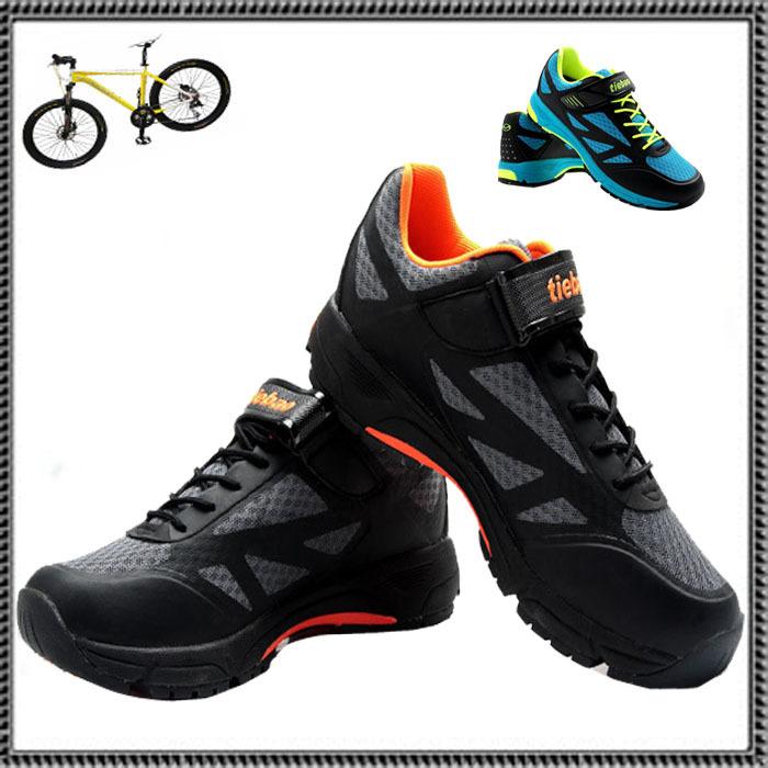 Tiebao mountain bike shoes, cycle cycling self-locking riding gear.Auto-Lock Shoes EUR 39-44