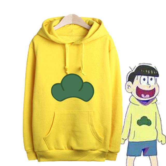 Osomatsu - Matsuno Ichimatsu толстовка с капюшоном свитерshirt косплей костюм марка ...