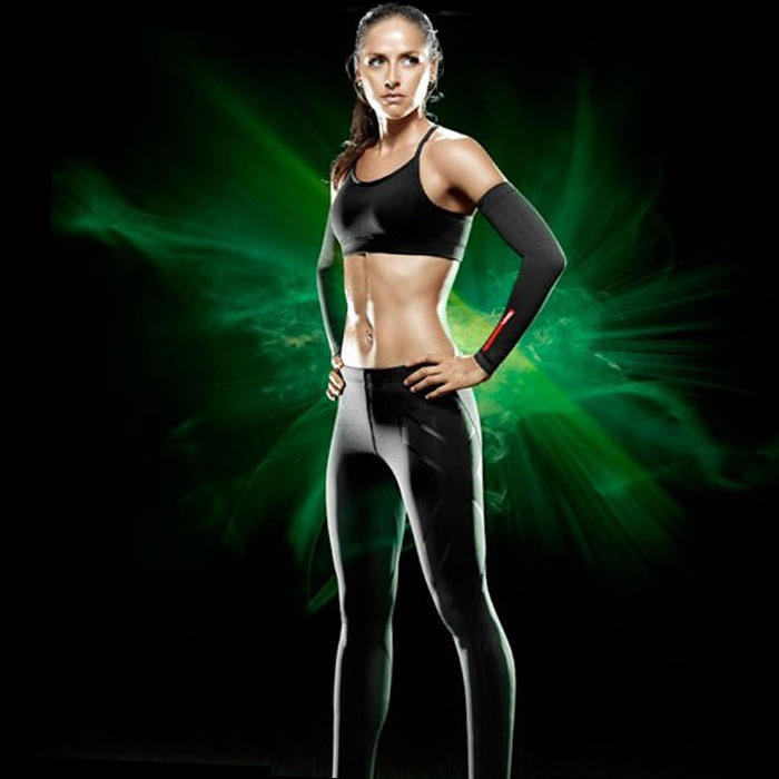Wholesale Lady 2XU Women Compression Tights Patns 2016 swim Cycling skinny Pants High Elastic Sweat Black Indoor&Outdoor Sports(China (Mainland))