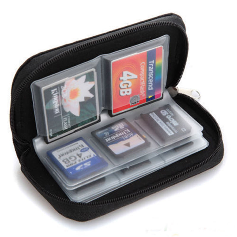 New Memory Card Storage Carrying Pouch Case Holder Wallet For CF/SD/SDHC/MS/DS(China (Mainland))