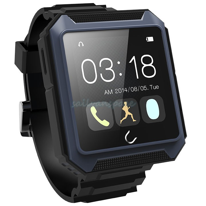 IP68 Waterproof Bluetooth Pedometer U Watch Compass Smart Watch for Android for iPhone/HTC/Samsung/Sony/Smartphones 35