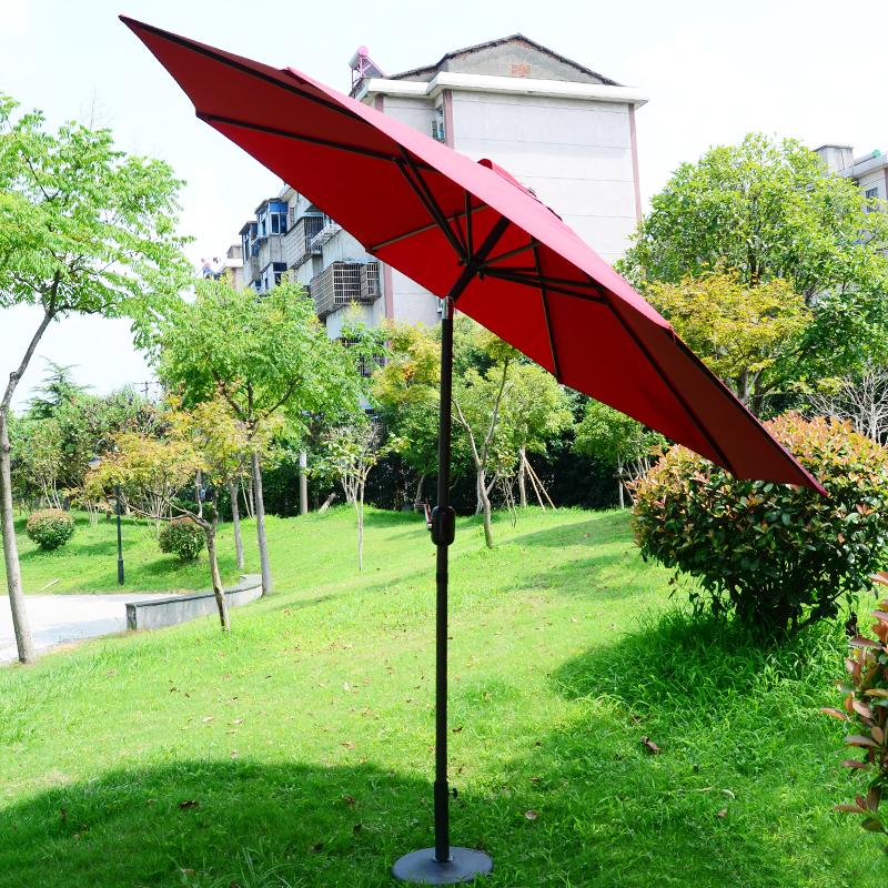 large outdoor umbrellas umbrella hand column large patio stall beach