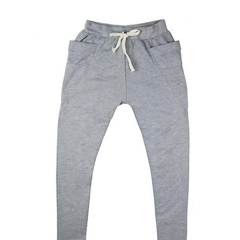 2015 Baggy Tapered Bandana Men Pants Hip Hop Dance Harem Sweatpants Drop Crotch Pants Men Parkour Sport Track Tapered Trousers(China (Mainland))