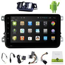 """Android 4.4 Car PC Tablet double 2din Audio 8"""" GPS Navigation Car Stereo Radio No-DVD Player for VW Passat Jetta Polo Golf Eos"""