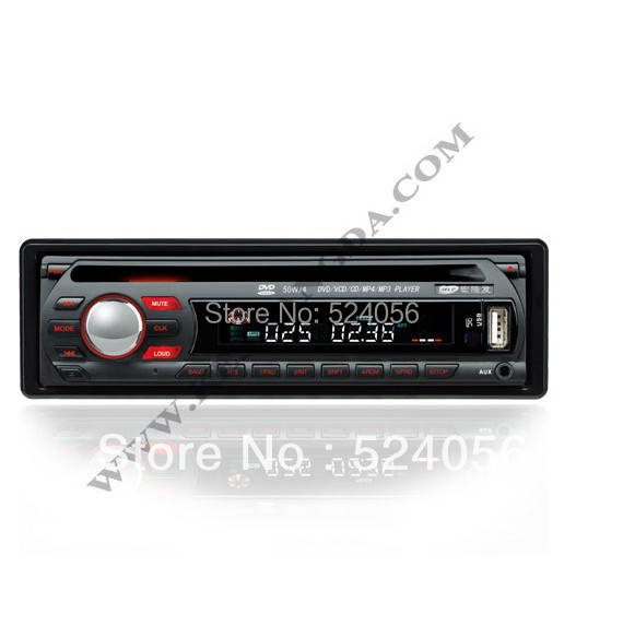 Quality one 1 Din Car DVD Player Single Din car stereo audio detachable panel  Radio Multilanguage Remote Control Function