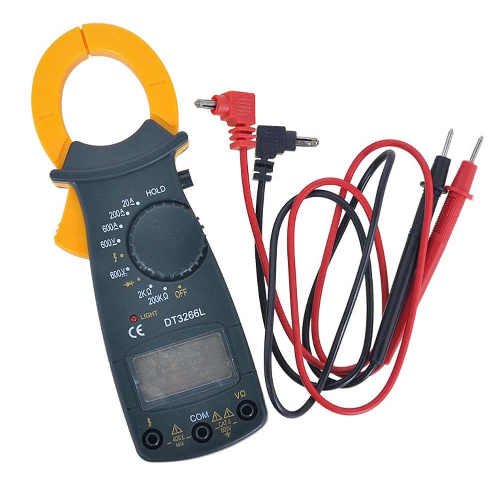 Гаджет  Portable AC DC Voltage LCD Digital Clamp Multimeter Electronic Tester Meter None Инструменты