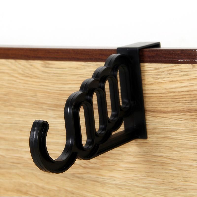 Hangers for Clothes Anzol Cabideiro Strange Gate-back Hook Coat Hooks (black) Watch video below(China (Mainland))