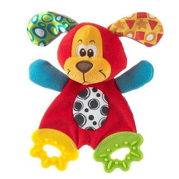 Новый ребенок младенческой милый плюшевые игрушки комфорт полотенце со звуком бумаги и прорезыватель E1Xc