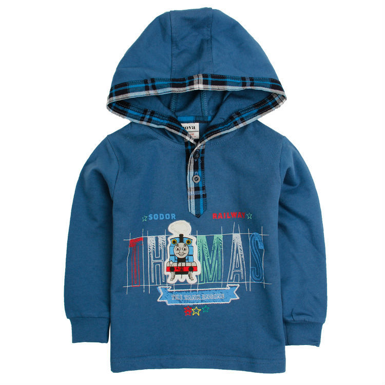 baby boy coat  18m-6y new Nova baby boys Thomas cotton warm hoodies kids autumn winter coats chlidren sweater printed<br><br>Aliexpress