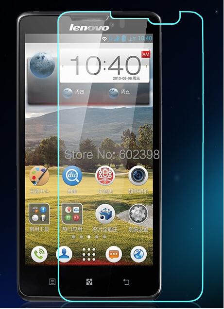 Гаджет  Amazing 9H 0.3mm 2.5D Nanometer Tempered Glass screen protector for Lenovo P780 None Телефоны и Телекоммуникации