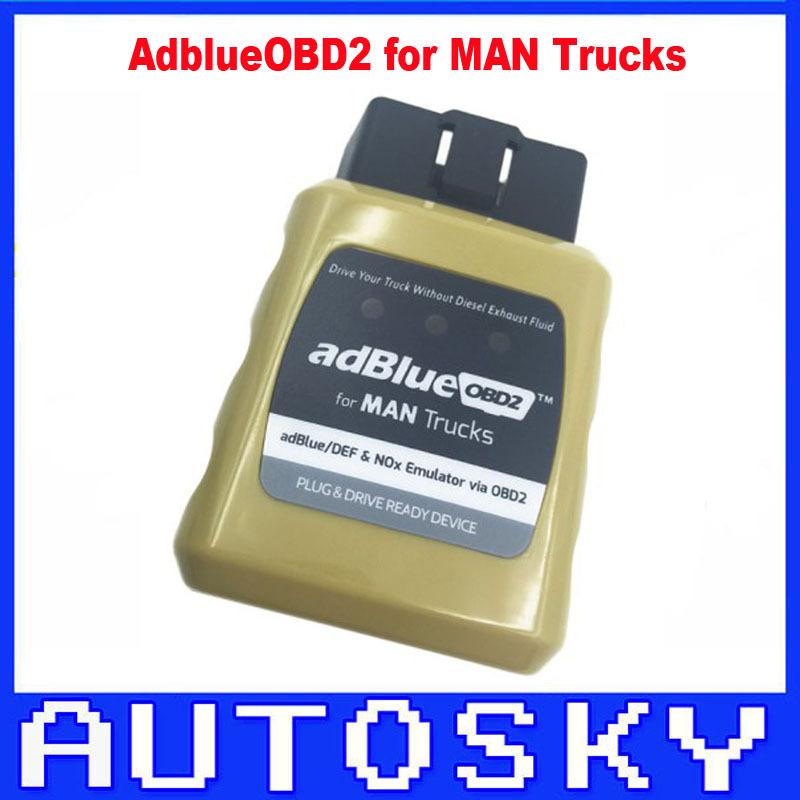 New MAN AdblueOBD2 Emulator for MAN Trucks Plug And Drive Ready Device by obd2 AdblueOBD2 MAN(China (Mainland))