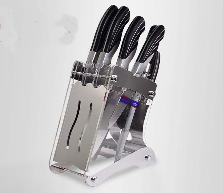 Kitchen-shelving-kitchen-knife-Accessories-acrylic-knife-holder-kitchen-supplies-plexiglass-holder-without-Knives- (2)