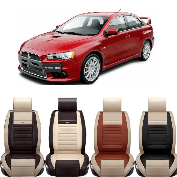 Special Leather Mitsubish car seat cover ASX Lancer SPORT EX Zinger FORTIS Outlander Grandis evo car accessories car sticker<br><br>Aliexpress