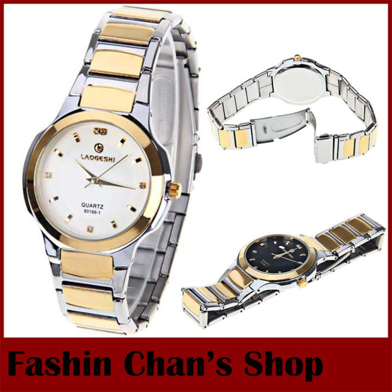 Fashion women wristwatches stainless steel gold watch women quartz casual watch laogeshi japan for Celebrity quartz watch japan movt