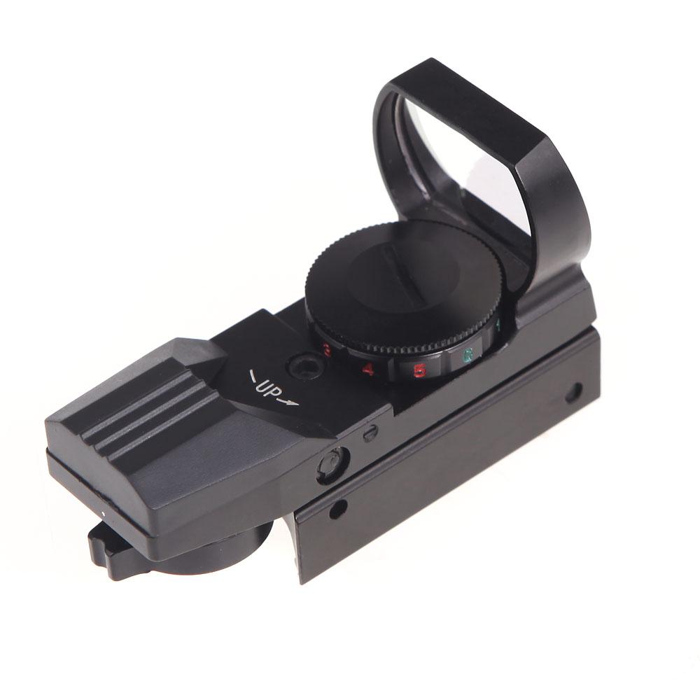 Rifle Scope Holographic 4 Reticle Red Green Dot Tactical Reflex Sight Scope Riflescopes Hunting Optics(China (Mainland))