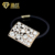 Hot Sales Korea Trendy Rhinestone Crystal Square Hairband Hair Accessaries Full Crystal Geometric Hair bands for girls