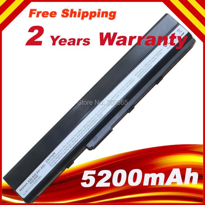 Battery For ASUS Original A52 A52DE A52JT A52JU A52JV A52J A52N A32-K52 K52L681<br><br>Aliexpress