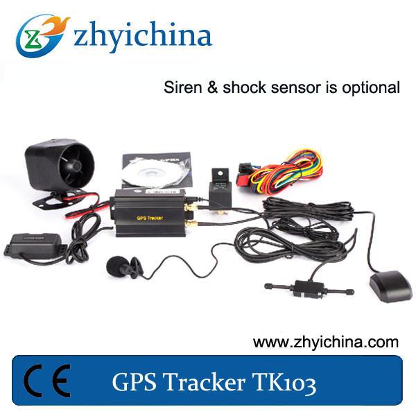alibaba cn CE certified GPS tracker TK103 vehicle / car / truck tracker www.alibaba.com(China (Mainland))