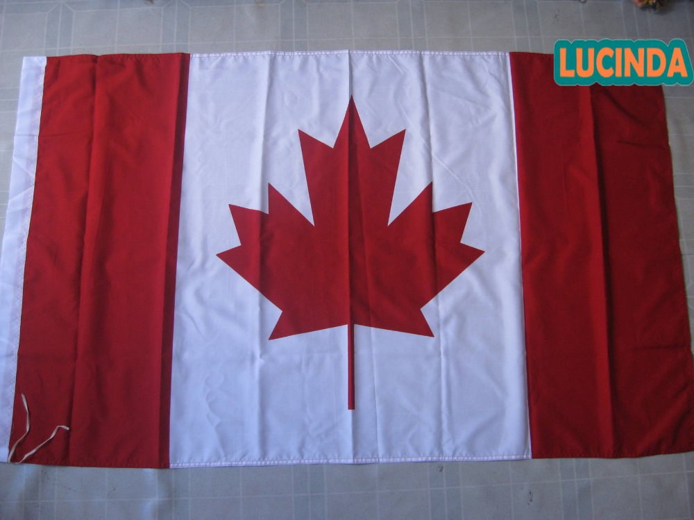 ( 4 ' x 6 ) Canada flag double stitched 125 190 cm - Lucinda store
